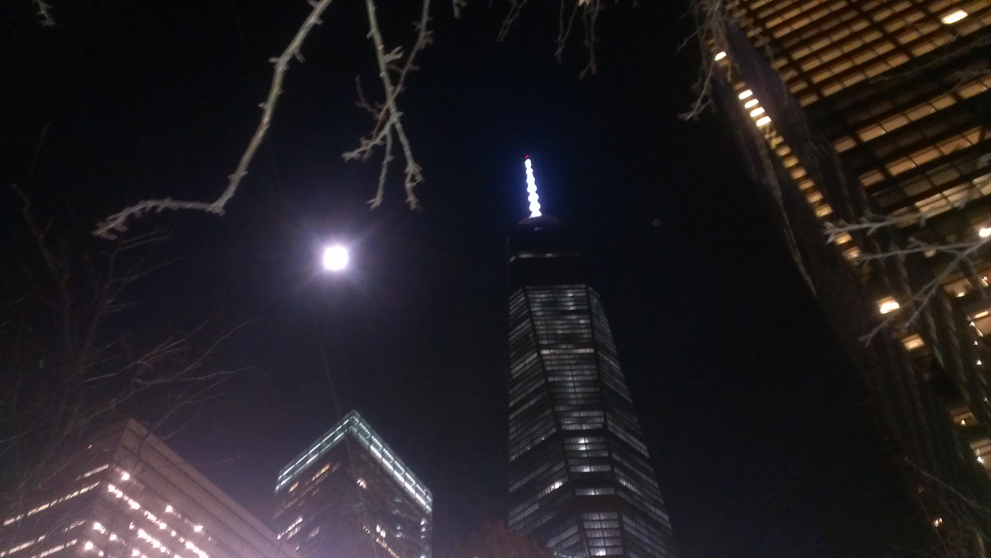 Moon over Manhattan