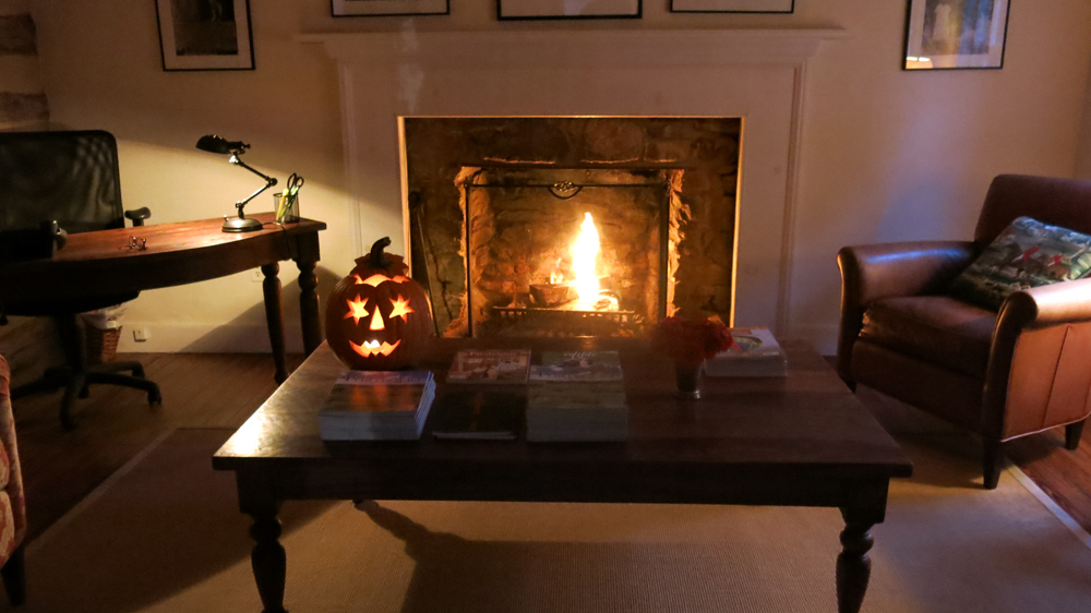 Office set for halloween