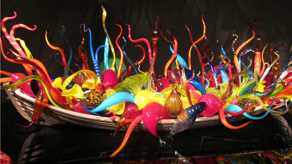 Chihuly exhibit at Richmond Museum of Fine Art