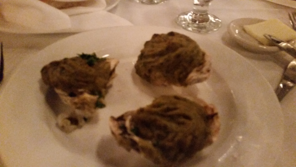 Antoine's Oysters Rockefeller taste as bad as they look