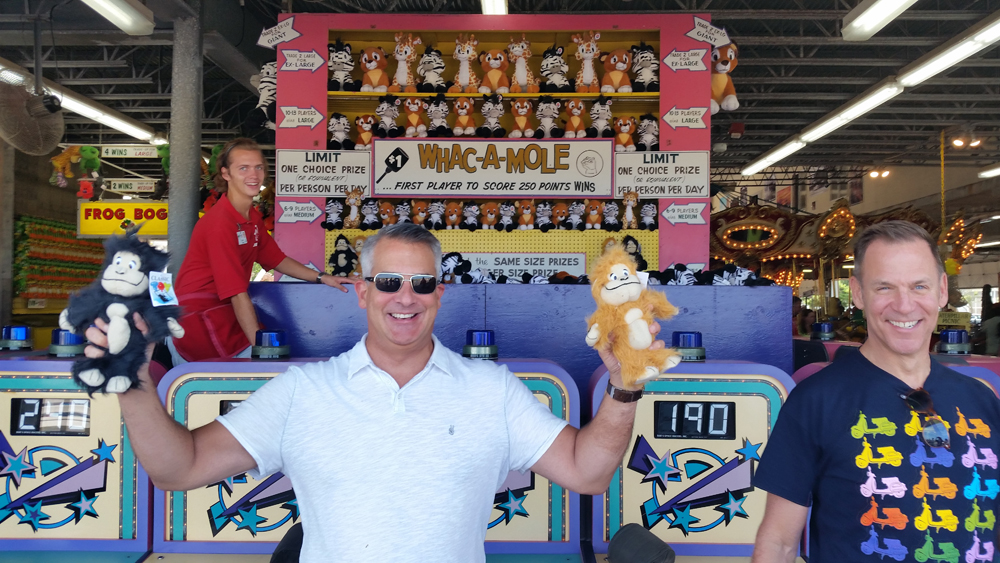 Wes is the whack-a-mole champ!