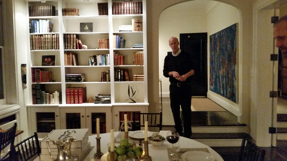 Famous artist Ned McNeal shares his slice of the Upper East Side with us