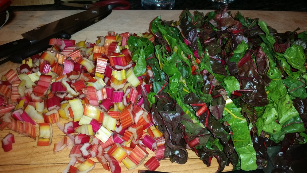 Will gives our swiss chard a culinary makeover
