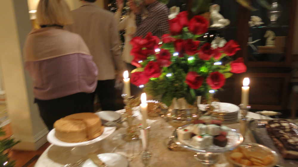 Dudley & Russell's elegant Christmas party