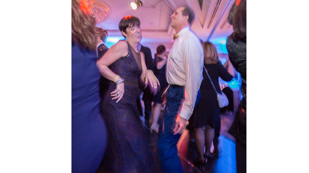Martha and Keith dance up a storm