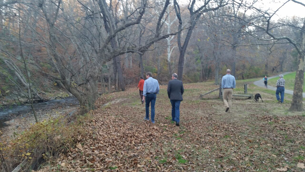 walking off the Thanksgiving calories in Rock Creek Park