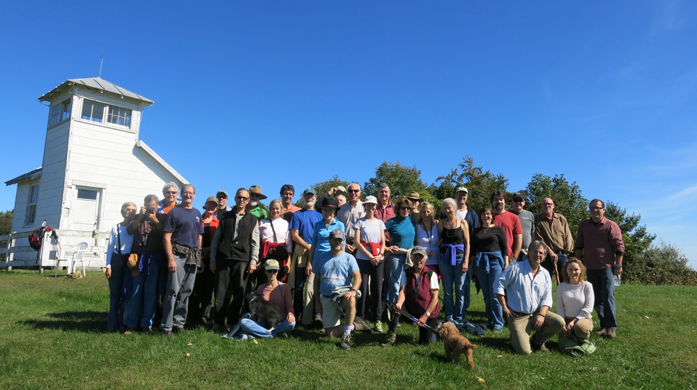 neighbors and friends on Red Oak Mountain