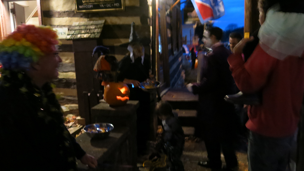 trick or treaters at my office