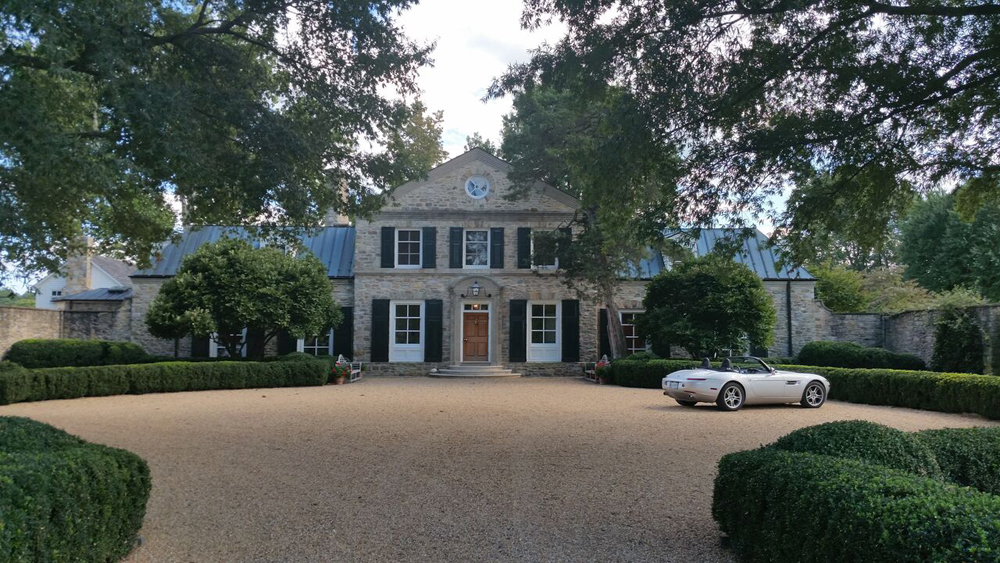 I left the wedding early to sell this estate, but didn't