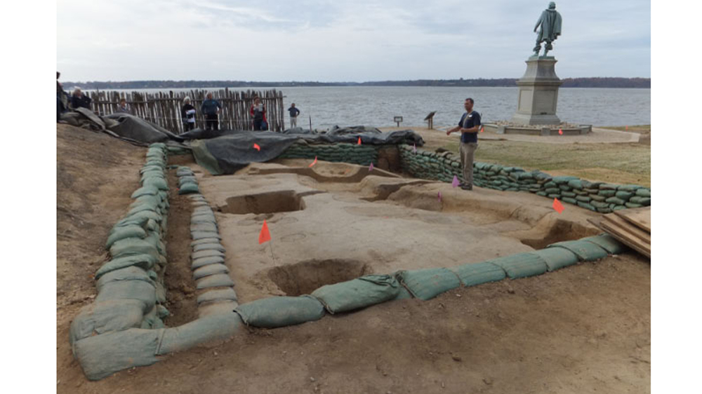 Jamestown archeology