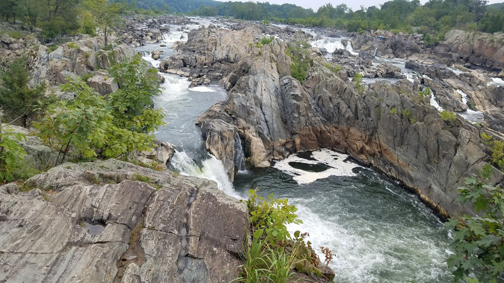 Great Falls are still impressive despite the drought