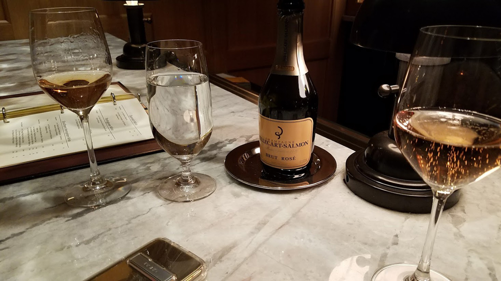 Thanksgiving Champagne