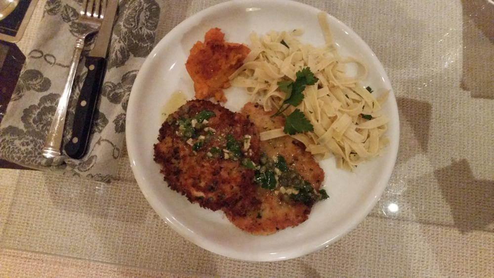 the best Wiener schnitzel ever!