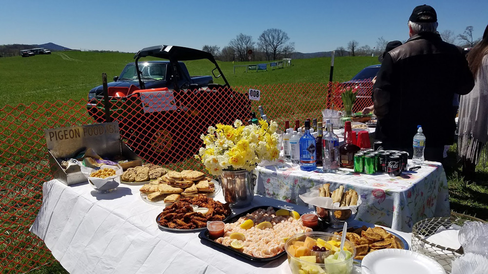to make a tailgate centerpiece at the ODH races