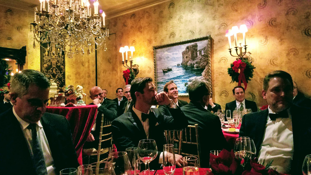 Jim D'Orta's elegant Christmas dinner