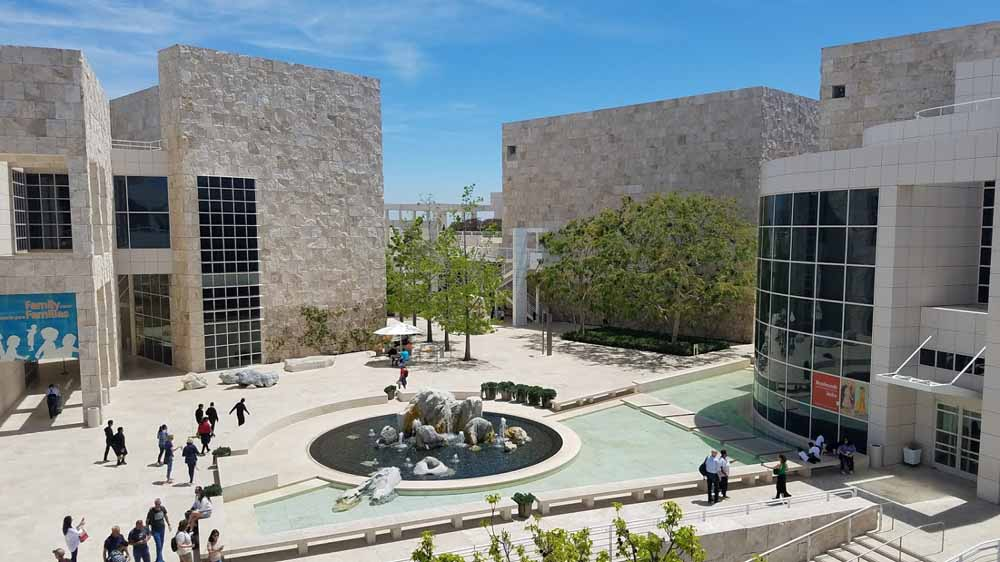 Getty buildings are better than the collection itself