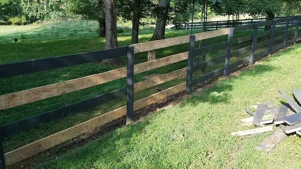 New fencing!